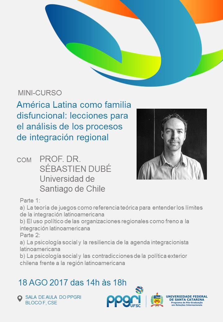 Image result for PROF. DR. SÉBASTIEN DUBÉ Universidad de Santiago de Chile